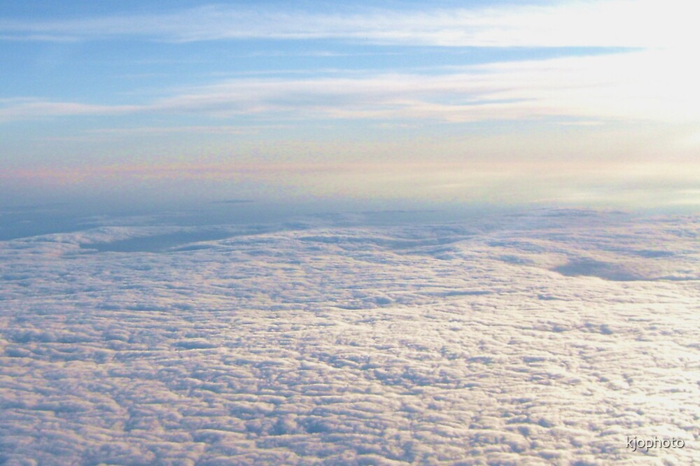 above the clouds by kjophoto