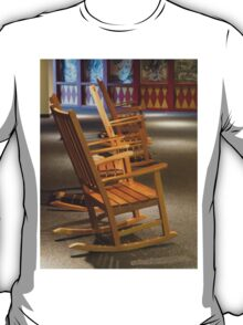 Rocking Chairs in Waiting T-Shirt