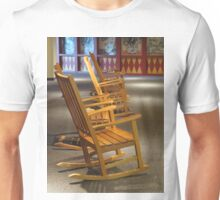 Rocking Chairs in Waiting Unisex T-Shirt