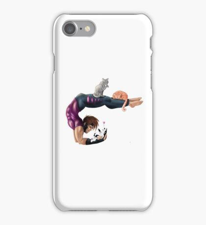 Gambit Morning Stretch iPhone Case/Skin