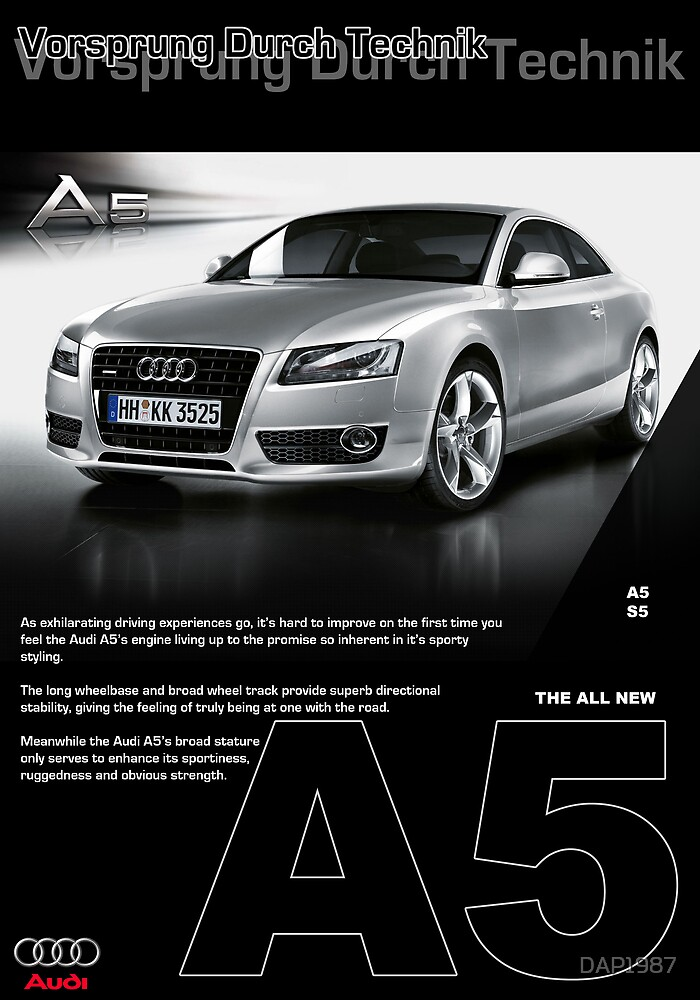 Audi A5 Page by DAP1987
