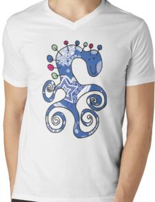 Lolly pop monster Mens V-Neck T-Shirt