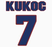 Basketball player Toni Kukoc jersey 7 by imsport