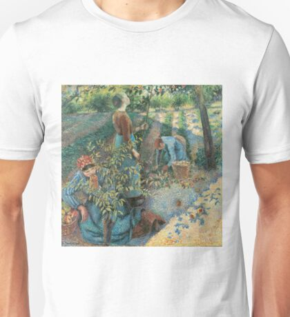 Camille Pissarro - Apple Picking (1886) Unisex T-Shirt