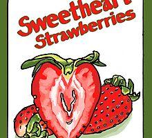 Sweetheart Strawberries by Ken Coleman