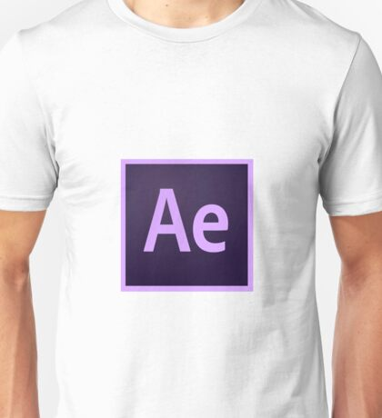 After Effects Logo Items! Unisex T-Shirt