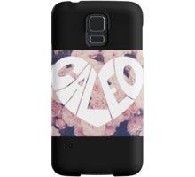 Caleo floral background Samsung Galaxy Case/Skin