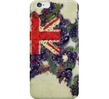 Australian Flag Map Fruits And Vegetables iPhone Case/Skin
