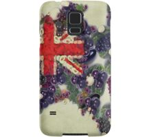Australian Flag Map Fruits And Vegetables Samsung Galaxy Case/Skin
