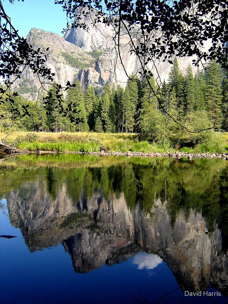 Yosemite Reflection Lake by David Harris