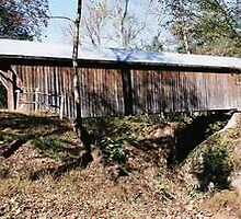 Bunkerhill Covered Bridge by Laura Howard