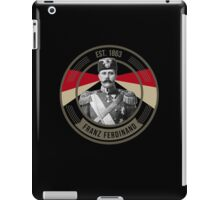 The Archduke Franz Ferdinand iPad Case/Skin