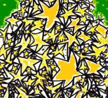 Star Tree Sticker