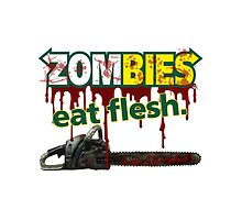 zombies eat flesh by reelpartyt-shir