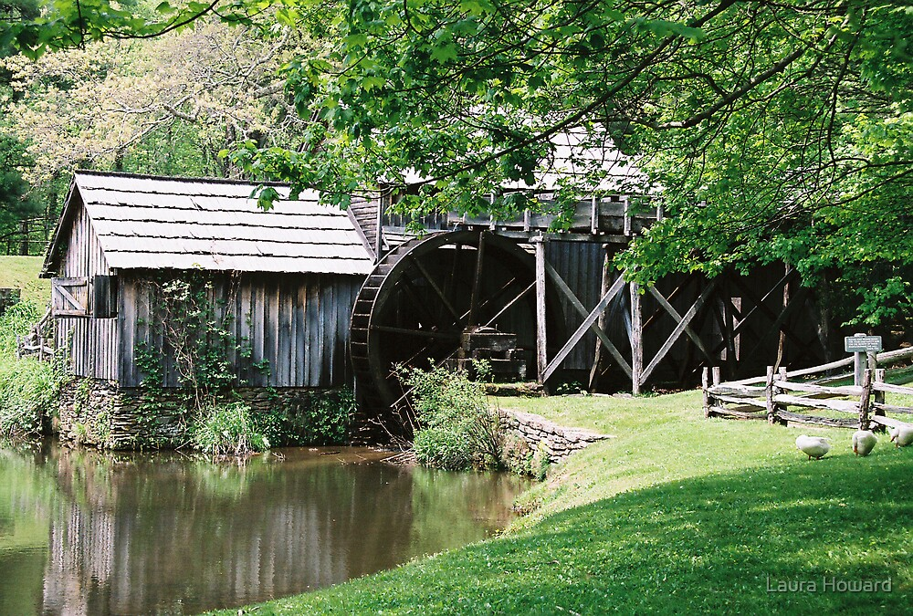Mabry's Mill by Laura Howard