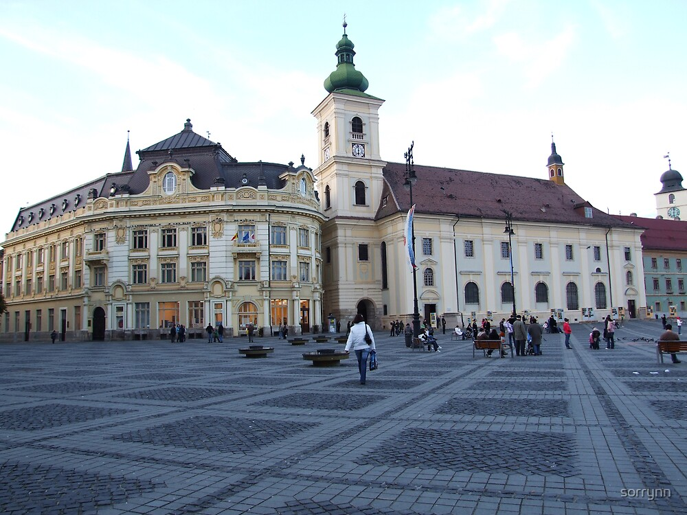 Sibiu - Center of the city by sorrynn