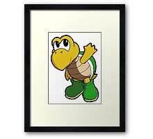 Super Mario Bros. - Koopa Troopa Framed Print