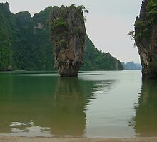 """Phang-na """"James Bond"""" Island by Michael Powell"""