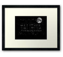 Talihina Stars Framed Print