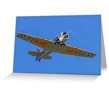 Noorduyn Harvard IIb FE965 G-BTXI Greeting Card