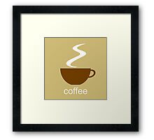 coffee II Framed Print