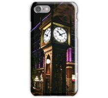 Gastown Steamclock. iPhone Case/Skin
