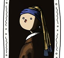Girl with a Pearl Earring by Lufumaybe