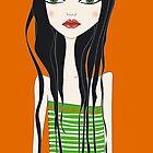 girl II by Micheline Kanzy