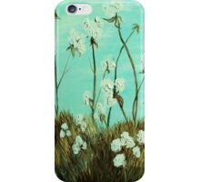 Blue Skies over Cotton iPhone Case/Skin