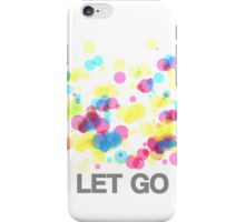 Let Go iPhone Case/Skin