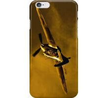 Hawker Hurricane at sunset iPhone Case/Skin