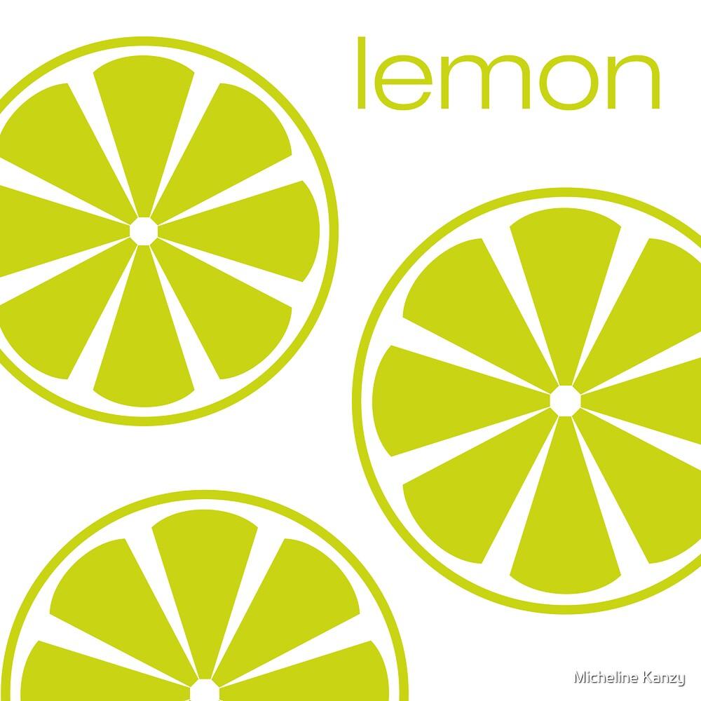 lemon I by Micheline Kanzy