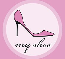 pink shoe by Micheline Kanzy