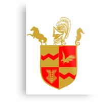 Silas University Coat of Arms Metal Print