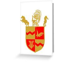 Silas University Coat of Arms Greeting Card