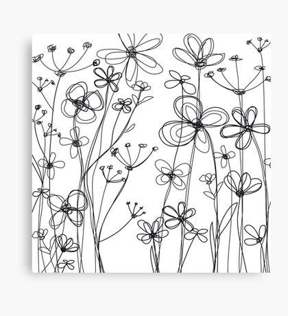 fleurs I Canvas Print