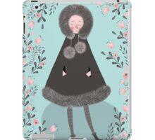 WINTER GIRL iPad Case/Skin