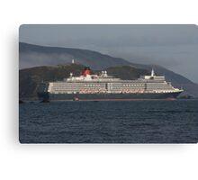 Queen Elizabeth 3 Canvas Print