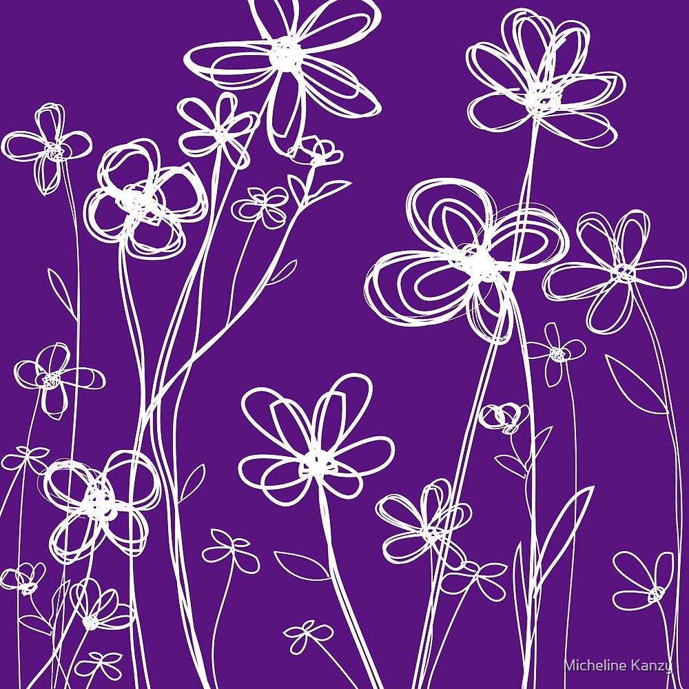 fleurs III by Micheline Kanzy