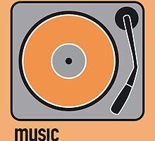 music orange by Micheline Kanzy