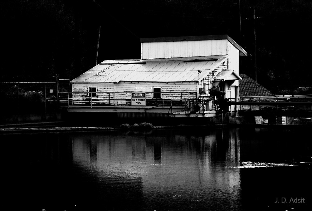 Pumphouse Reflections by J. D. Adsit