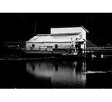 Pumphouse Reflections Photographic Print