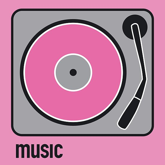 music pink by Micheline Kanzy