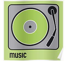 music green Poster