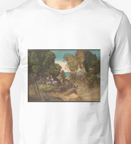 Dosso Dossi - The Three Ages Of Man Unisex T-Shirt