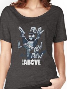 From Above Comic Women's Relaxed Fit T-Shirt