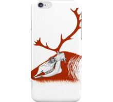 Rudolph the Red Reindeer iPhone Case/Skin