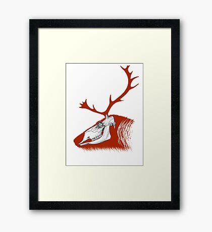 Rudolph the Red Reindeer Framed Print