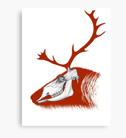 Rudolph the Red Reindeer Canvas Print