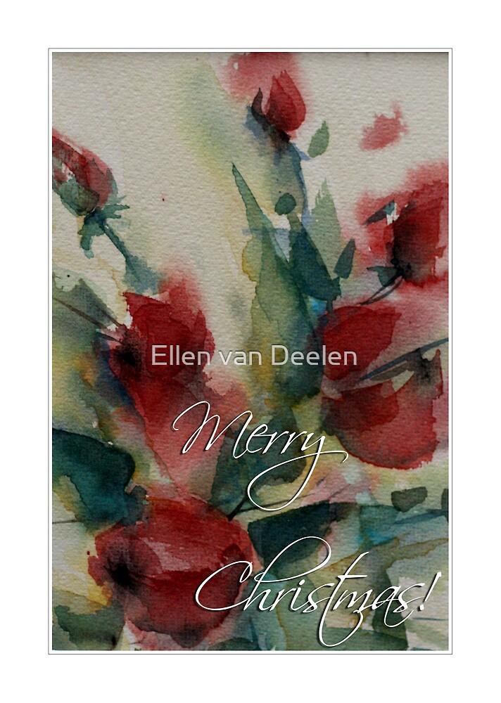 Merry Christmas by Ellen van Deelen